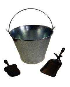 Juego chimenea limpieza cubo pala cepillo kit imex el zorro 10170         82079