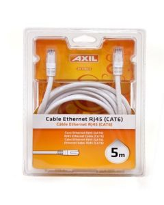 Cable multimedia rj45 ethernet cat 6 engel axil 5mt 5 mt