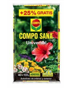 Sustrato cultivo universal 50 lt compo composana
