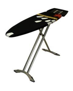 Tabla planchar con rejilla regulable altura 91 cm 124x40cm act pro garhe