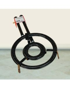 Paellero gas butano 2 fuegos redondo 40cm b-400 belseher