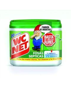 Eliminador olores fosas asepticas 20 pz wcnet                  86729 86729