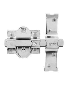 Cerrojo sobreponer bombillo 50mm bombillo niquel 80mm niquel 301-rp fac 01100