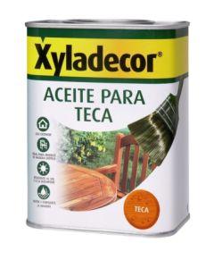 Aceite teca protector  750 ml miel xyladecor