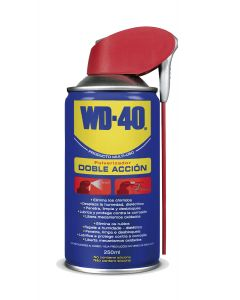 Aceite lubricante multiuso doble accion wd-40 250 ml