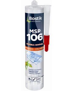 Adhesivo sellador polimero bostik 290 ml transparente 30601522