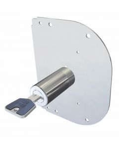 Cilindro seguridad sobreponer cerraduras cr 50mm cromo 28k55a cr 28k55a