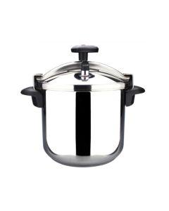 Olla cocina presion tradicional recta 10lt acero inox magefesa 010pstaco10