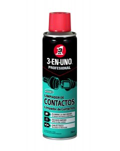 Limpiador contactos electricos 3-en-uno 250 ml