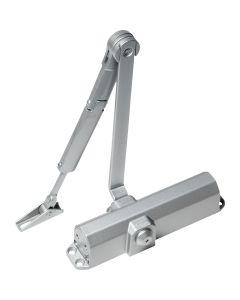 Cierrapuertas brazo retenedor plata ts compact dorma
