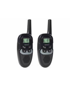 Walkie talkie vigilancia uso libre 8 canales 6km alc twinwalker duo topcom