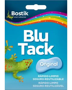 Adhesivo multiusos reutilizable 57 gr blue tack bostik         94896