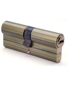 Cilindro seguridad leva larga doble embrague 33x33mm niquel 2000s2ln066 ucem 2000s2ln066