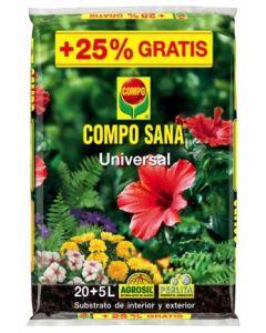 Sustrato cultivo universal 25 lt compo composana