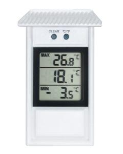 Termometro medicion temperatura digital exterior blanco tfa 301053