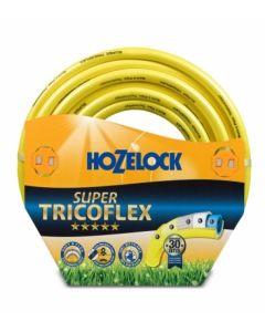 Manguera riego 5 capas tricotada 50mt-15mm amarillo super tric hozelock mt 139084         96001