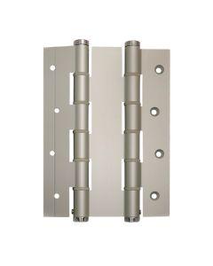 Bisagra puertas vaiven doble accion 180x40mm plata justor acero inox 2 pz 5914.01