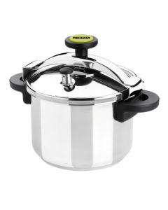 Olla cocina presion tradicional recta 08lt acero inox classica monix m530003