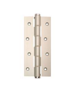 Bisagra cierre automatico simple accion 180mm plata justor 5814.01 2 pz 5814.01