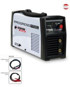 Grupo soldadura inverter hasta 4,0 mm con accesorios 170amp/60% stayer progress 1700 l