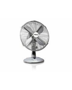 Ventilador climatizacion sobremesa 35w-3 velocidades oscilante 30cm acero inox tristar ve-5953