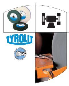 Muela herramienta electrica afilado plana widia 150x20x32mm c80 tyrolit 123633