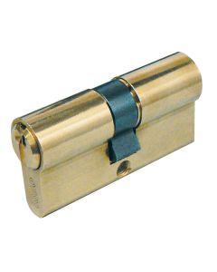 Cilindro leva larga centrado 30x30mm laton 820830307 iseo 820830307