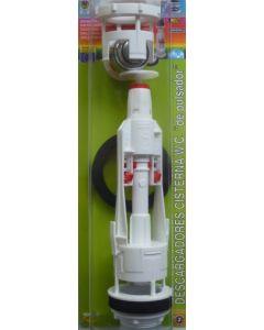 Descarga cisterna inodoro universal pulsador con base s&m 410550