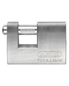 Candado seguridad arco rectangular 70mm aluminio aluminio abus 82ti/70