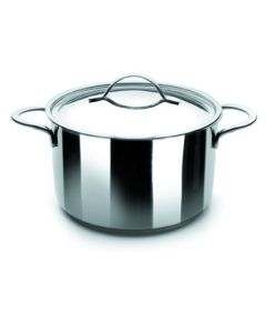 Olla cocina con tapa 20cm acero inox noah ibili