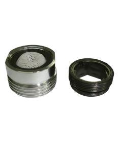 "Atomizador grifo ahorro 50% h22 m24-salida 3/4"" laton cromo aqcontrol es-305.2.00"