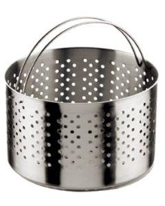 Cestillo cocina alto perforado-colador para olla 21cmø acero inox inoxibar 50211