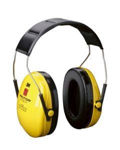Protector auditivo antiruido amarillo optime 1 diadema 3m