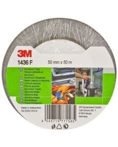 Cinta adhesiva aluminio 50mmx 50mt 3m 143650bl
