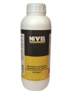 Decapante soldadura inoxidable gel 1 lt fuerte nivel nv98567