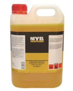 Taladrina refrigerante lubricante sintetica verde nivel 5 lt