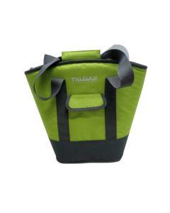 Nevera camping flexible bolso 15lt verde/gris natuur