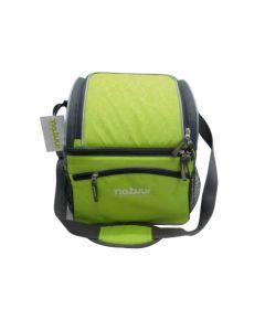 Nevera camping flexible 15lt verde/gris natuur