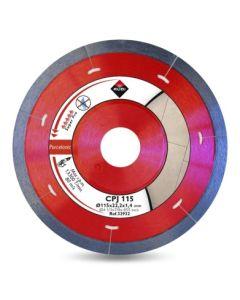 Disco corte porcelanico segmentado 115mmx1,7mm cpj-115 rubi 32932