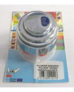 Pulsador cisterna descarga doble cromo s&m 410413
