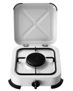 Cocina portatil a gas 1 fuego 280x295x100mm 1,4kw vivahogar vh99259