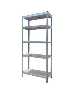Estanteria ordenacion 5 baldas 1800x900x400mm metal galvanizado nivel nv99266