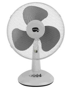 Ventilador climatizacion 40cm sobremesa vivahogar 40w-3 velocidades vh99267