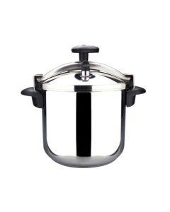 Olla cocina presion tradicional recta 12lt acero inox magefesa 01opstaco12
