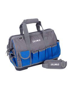 Portaherramientas profesional 24 bolsillos 420x240x300mm nylon irimo