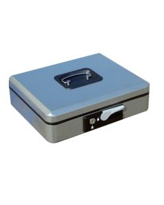 Caja alhajas con pulsador 250x180x90mm plata n.3 vivahogar