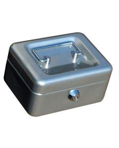 Caja alhajas 152x115x80mm plata n.1 vivahogar