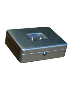 Caja alhajas 250x180x90mm plata n.3 vivahogar