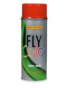 Pintura acrilica brillante 400 ml 400 ml rojo trafico fly color