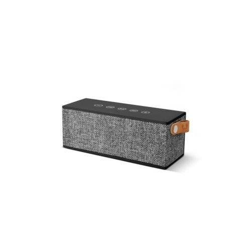 Altavoz bluetooth rectangular fresh'n rebel gris rockbox brick fabric edition co